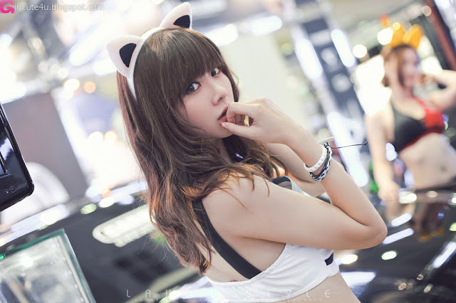 3 Jung Se On - Seoul Auto Salon 2012-Very cute asian girl - girlcute4u.blogspot.com