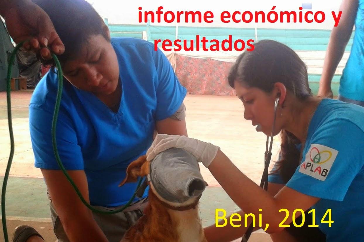 INFORME ECONÓMICO BENI 2014
