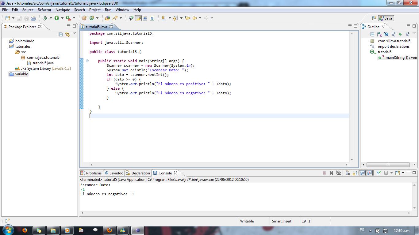Primer Programa Java   Aprendamos Juntos