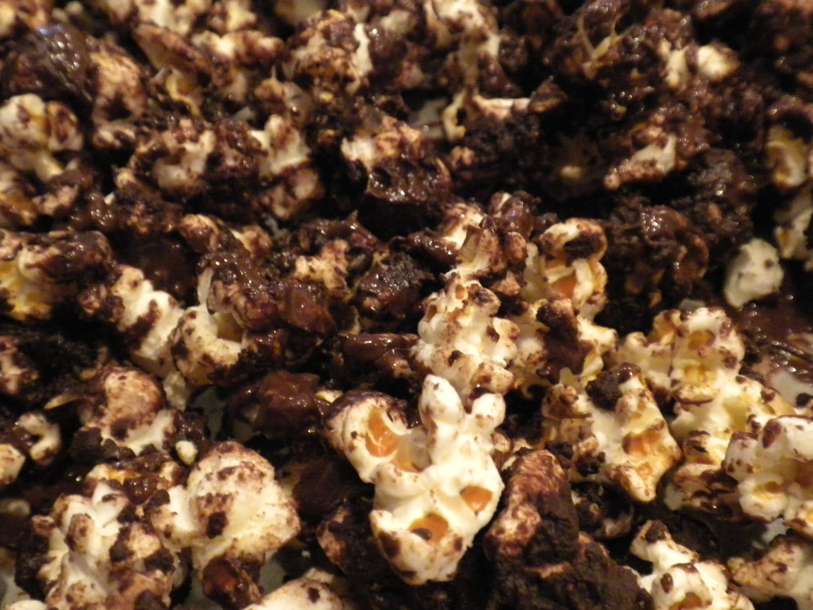 Sea Salt Dark Chocolate Popcorn by Substance of Living
