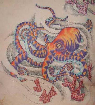 Fotos de Tatuagens de Polvo