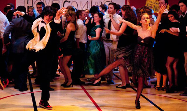 Ezra Miller and Emma Watson in The Perks of Being a Wallflower
