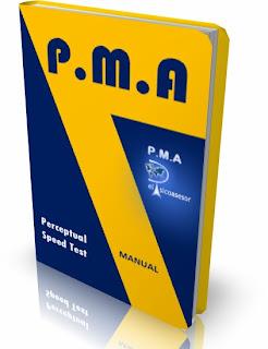 P.M.A.- Perceptual Speed Test- prueba-psicologia