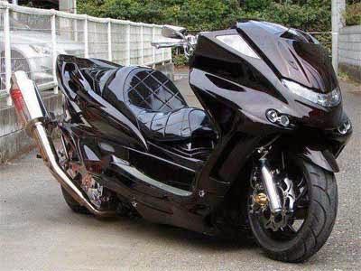 Modifikasi Motor Honda Konsep Gambot