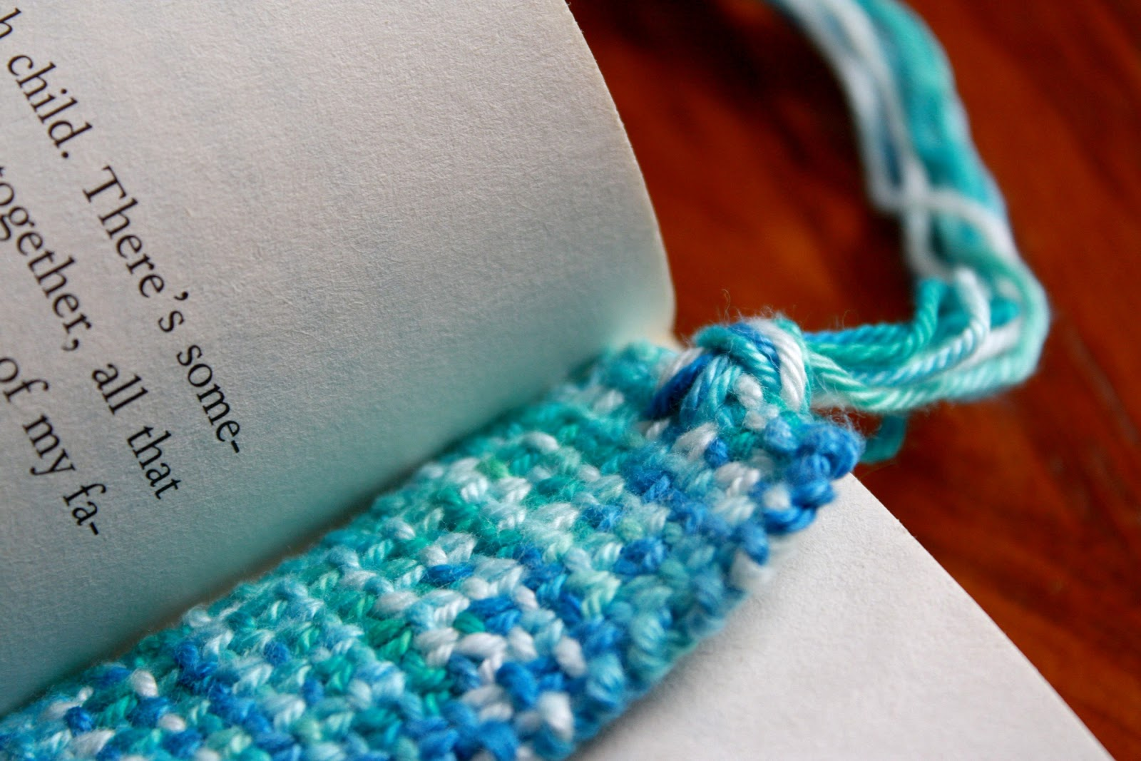 Knitting Bookmarks : Simple things notebook week of handmade five quick knit
