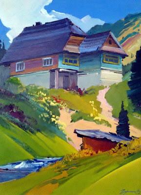 Гарагонич О, Домик в Скотарском, 1992