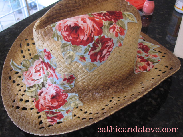 Cathie Filian  Summer Style  How to Alter a Cowboy Hat with Mod ... d3a881bfc88