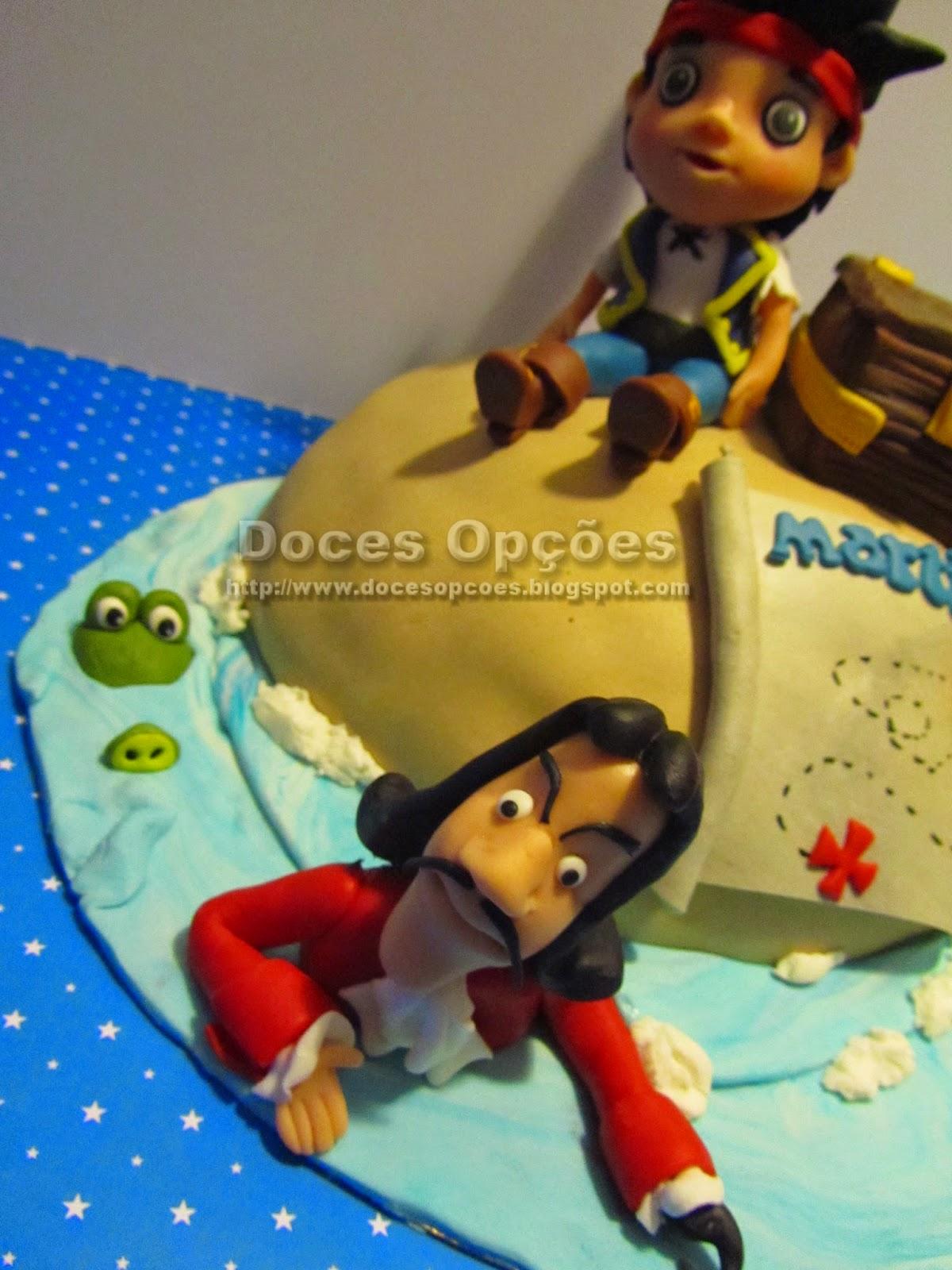 bolo aniversário capitão gancho