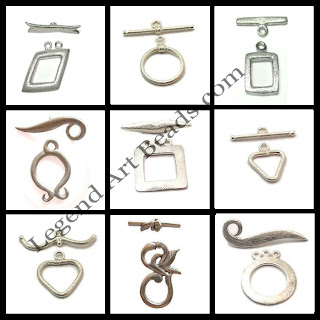 Wholesale Sterling Silver Brush Finish Toggles