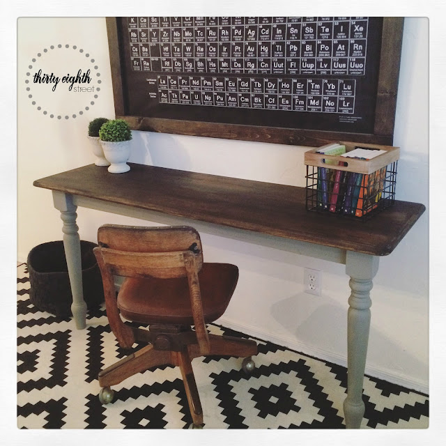 office space, creative desk ideas, how to make a desk, fab flippin contest