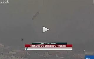 Video Tornado Throwing Semi Trucks