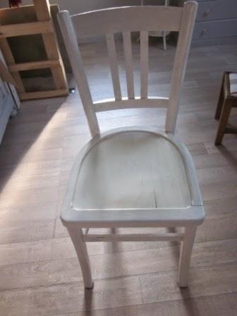 La petite maison de sylvie galette de chaise d houssable for Repeindre des chaises