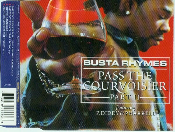 Busta Rhymes - (2002) Pass The Courvoisier Part II (CDS) (320)