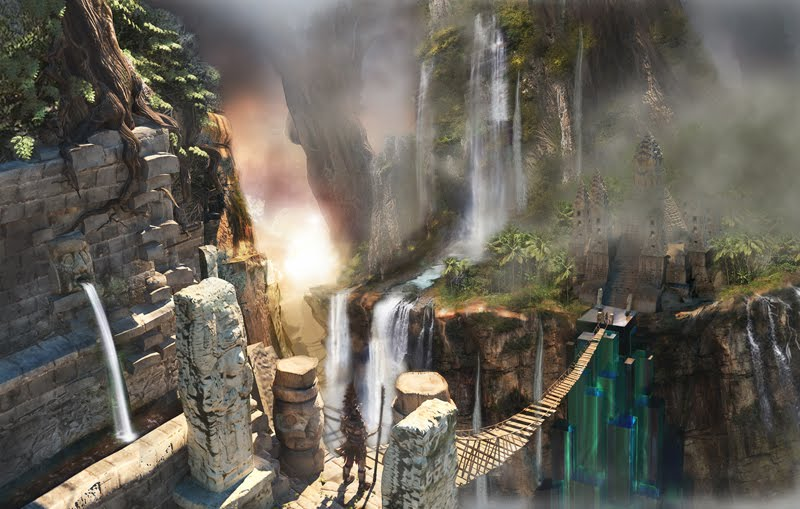 3d game concept  for game- Zaa