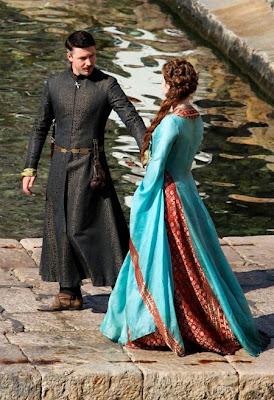 Petyr y Ross de cerca rodaje tercera temporada Juego de Tronos - Juego de Tronos en los siete reinos