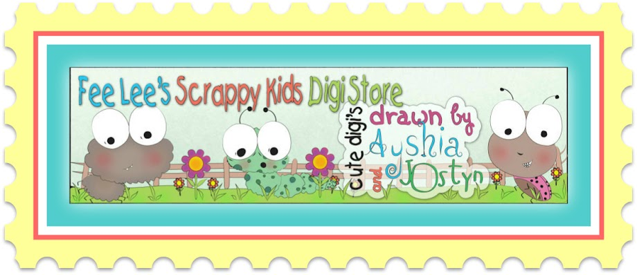 Fee Lee's Scrappy Kids Digi Store
