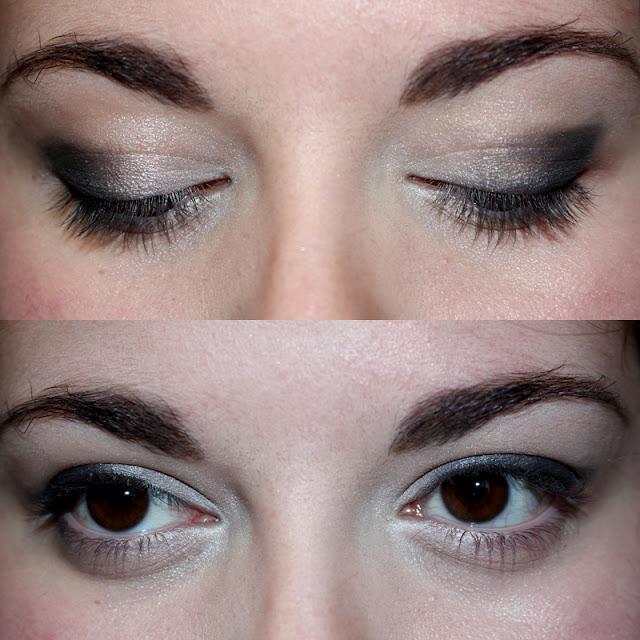 Resultat maquillage nuit crayon noir Outer V