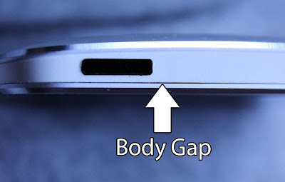HTC One M7 body Gaps