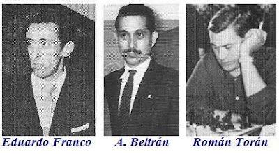 Eduardo Franco, A. Beltrán y Román Torán