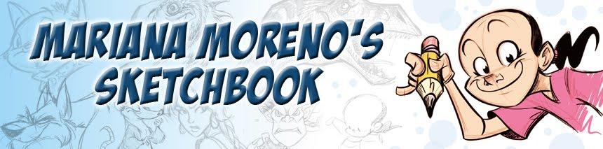 Mariana Moreno's Sketchbook