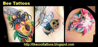 Symbolic Meaning of Bee Tattoos