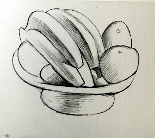 Les ateliers de camille dessin au trait et nature morte - Dessin de nature morte ...