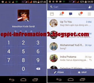 Facebook Multi Account Android (mod) Versi 35.0.0.0.109 Material Theme