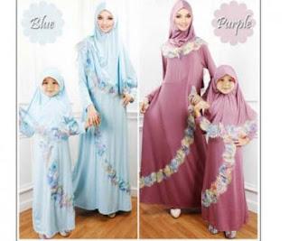 Foto Baju Muslim Couple Ibu Dan Anak Perempuan