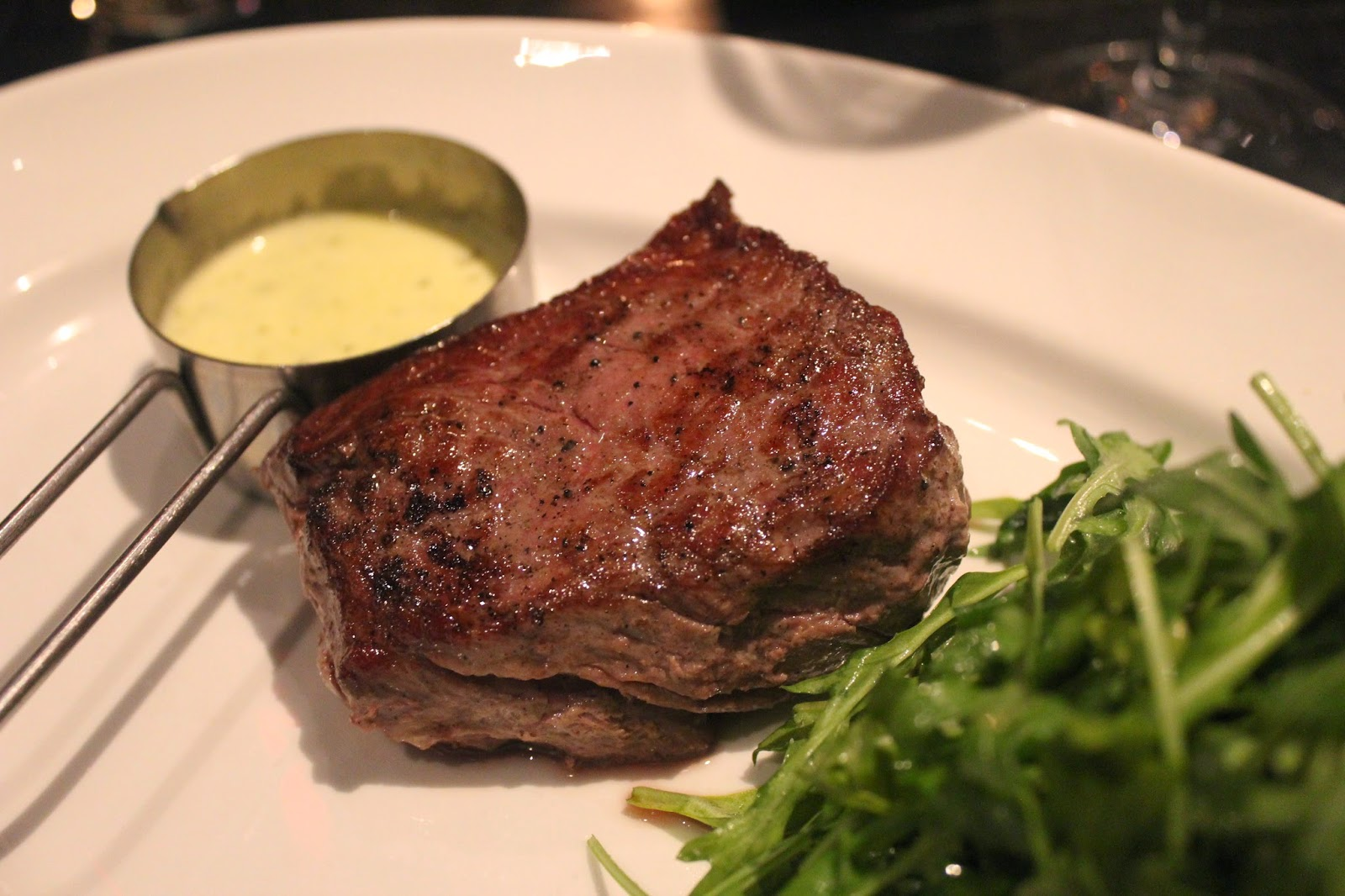 In and around town boston chops untraditional steak house for Steak boston