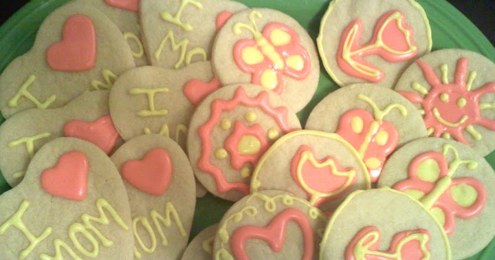 Sohl Design: Mother's Day Sugar Cookies