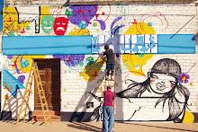 Te gusta el mural del frente?