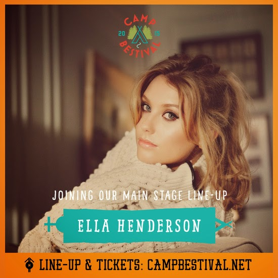 Ella Henderson and Rudimental Camp Bestival