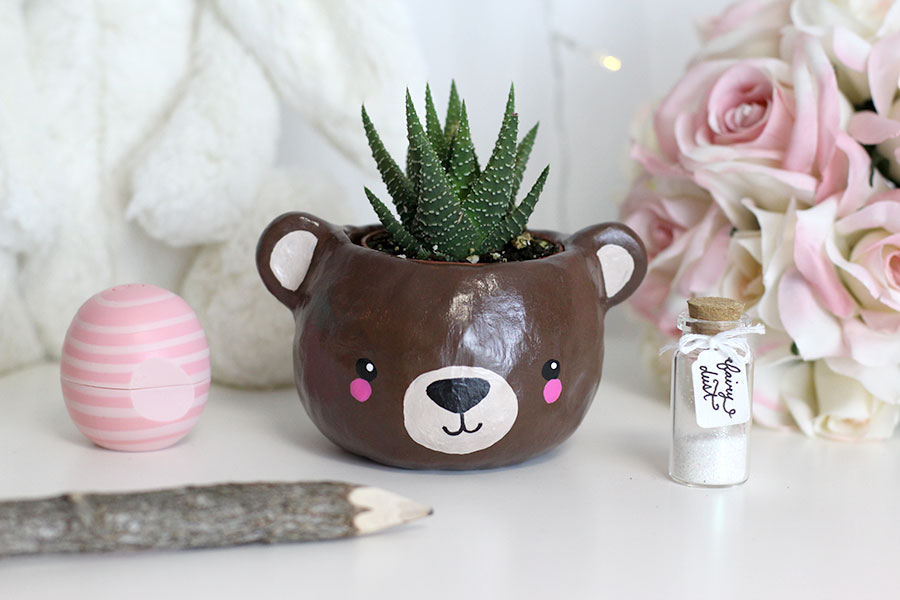 Animal head planter