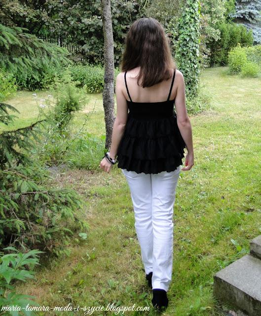 bluzki na ramiączka na lato