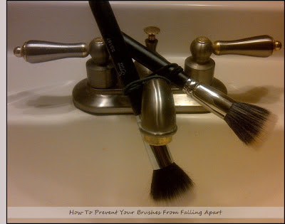 Drying-your-makeup-brushes-on-a-sink-by-barbies-beauty-bits