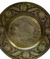 Столовое серебро Москва. Тарелка серебряная