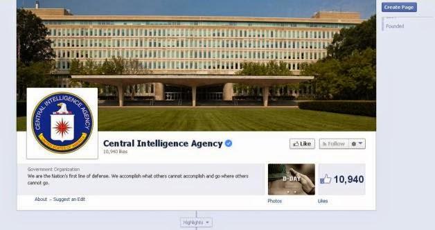 CIA Facebook Page