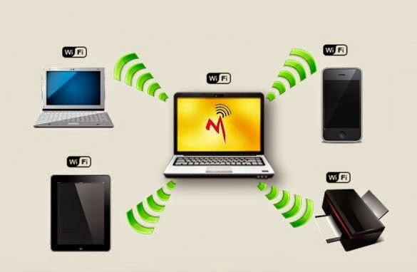 تحويل اللابتوب الى راوتر لتوزيع الانترنت