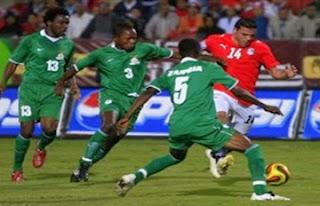 مباراة مصر وزامبيا