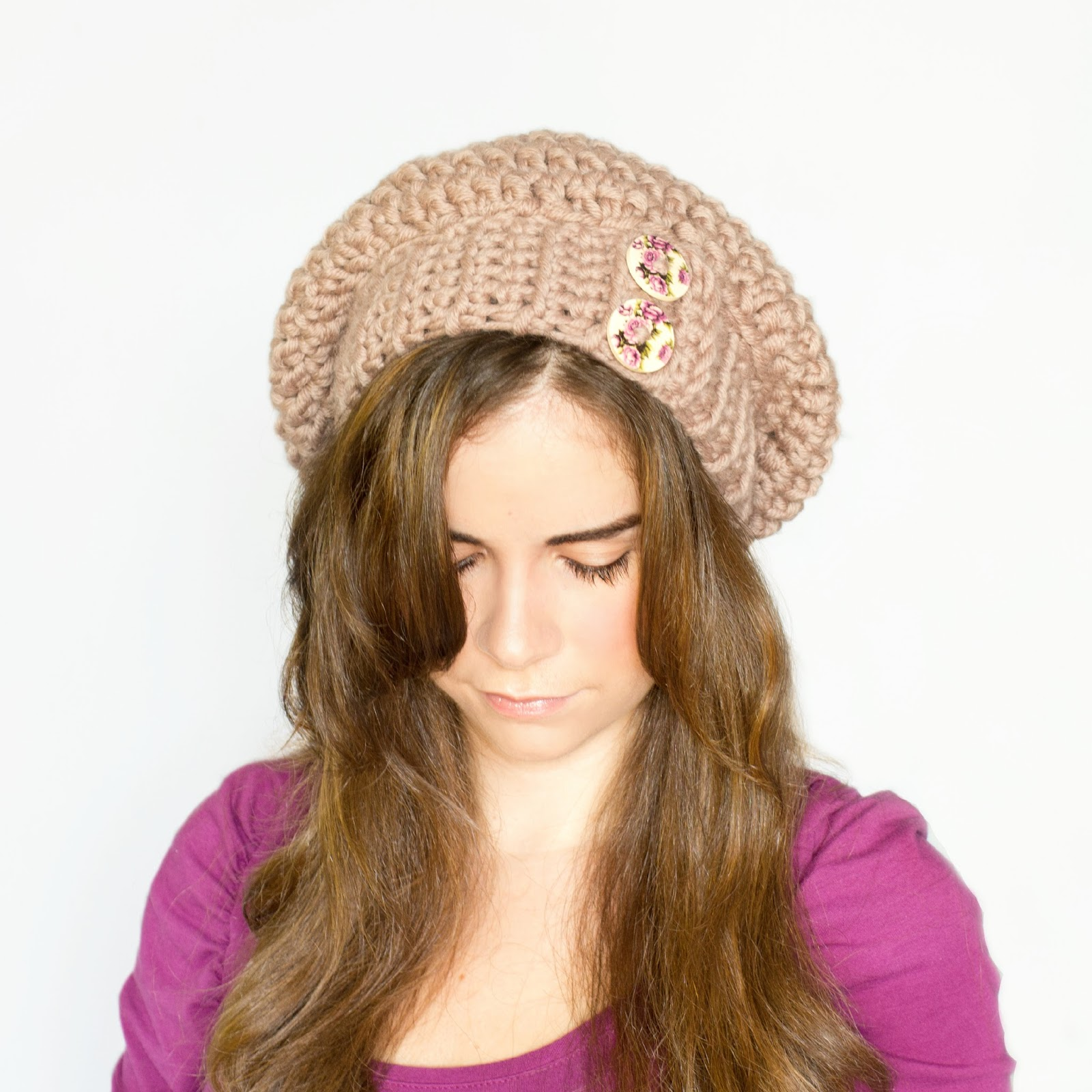 Crochet Pattern To Make A Beanie : Hopeful Honey Craft, Crochet, Create: Chunky Slouchy ...