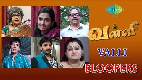 Valli Bloopers, 28/11/2015,Sun Tv Serial