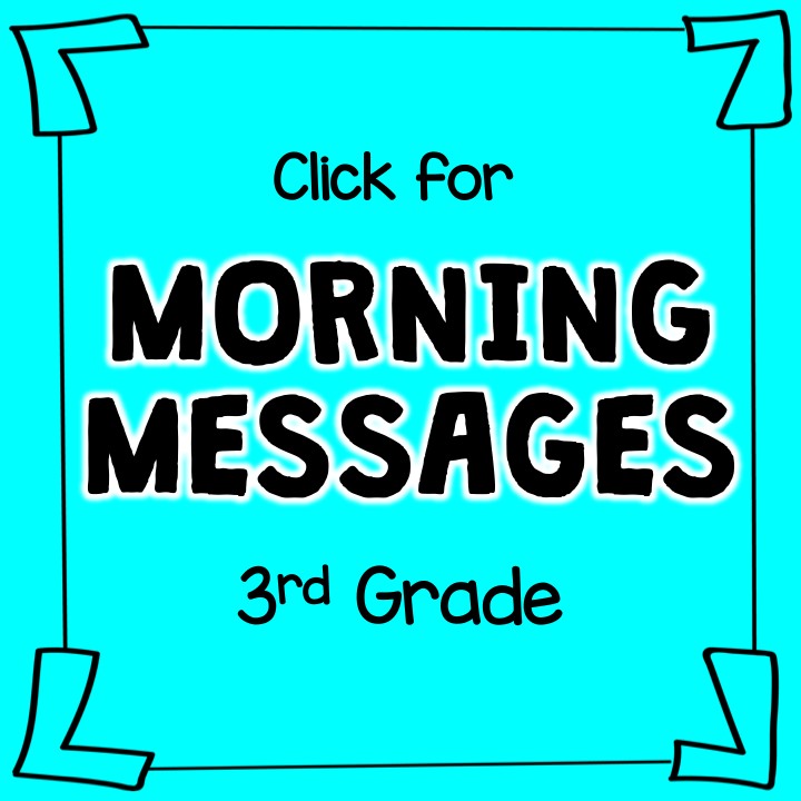 Morning Messages: 3rd