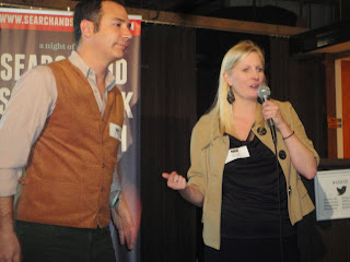Rob Campbell beside Deborah Lewis of Toronto City Events