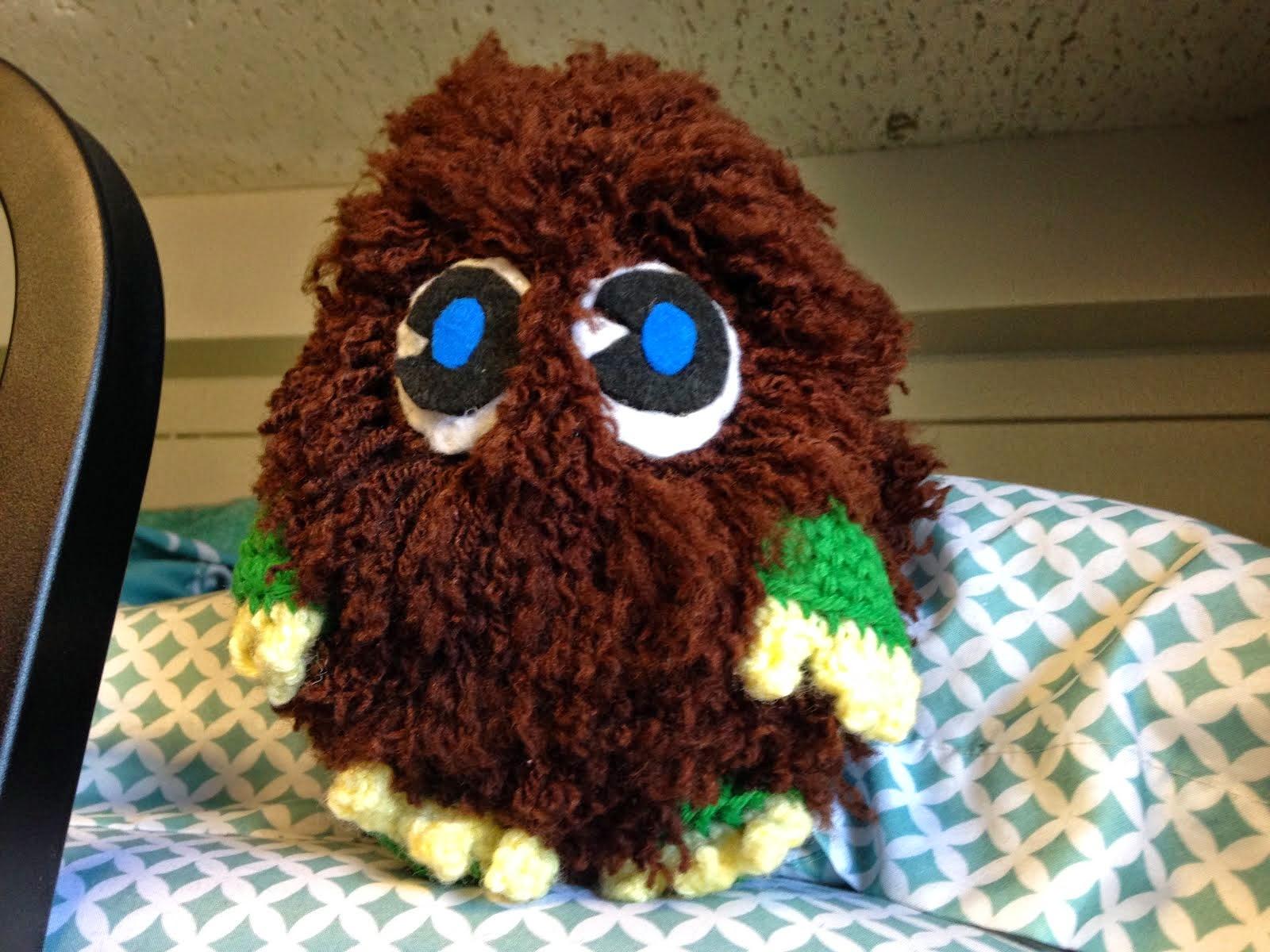 Crochet Mini Kuriboh
