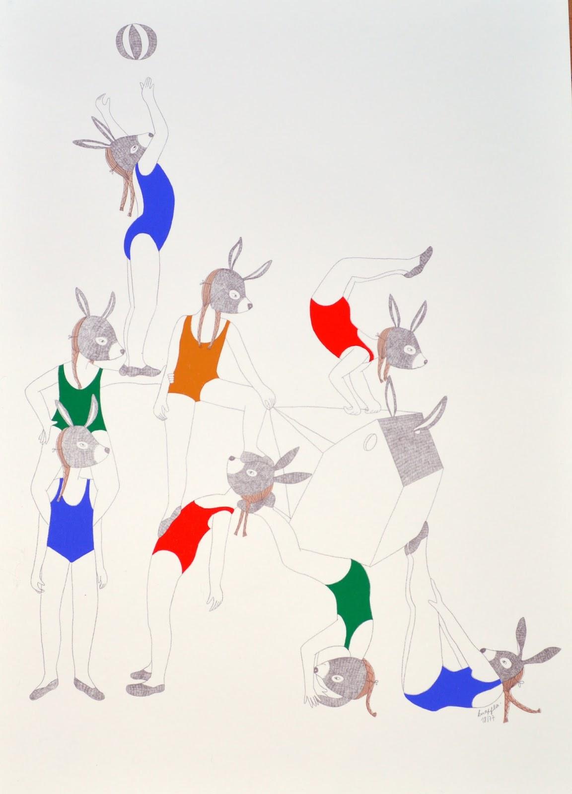 Connu Gabulle in Wonderland: Art up 2014 : l'art contemporain s'invite à  ND84