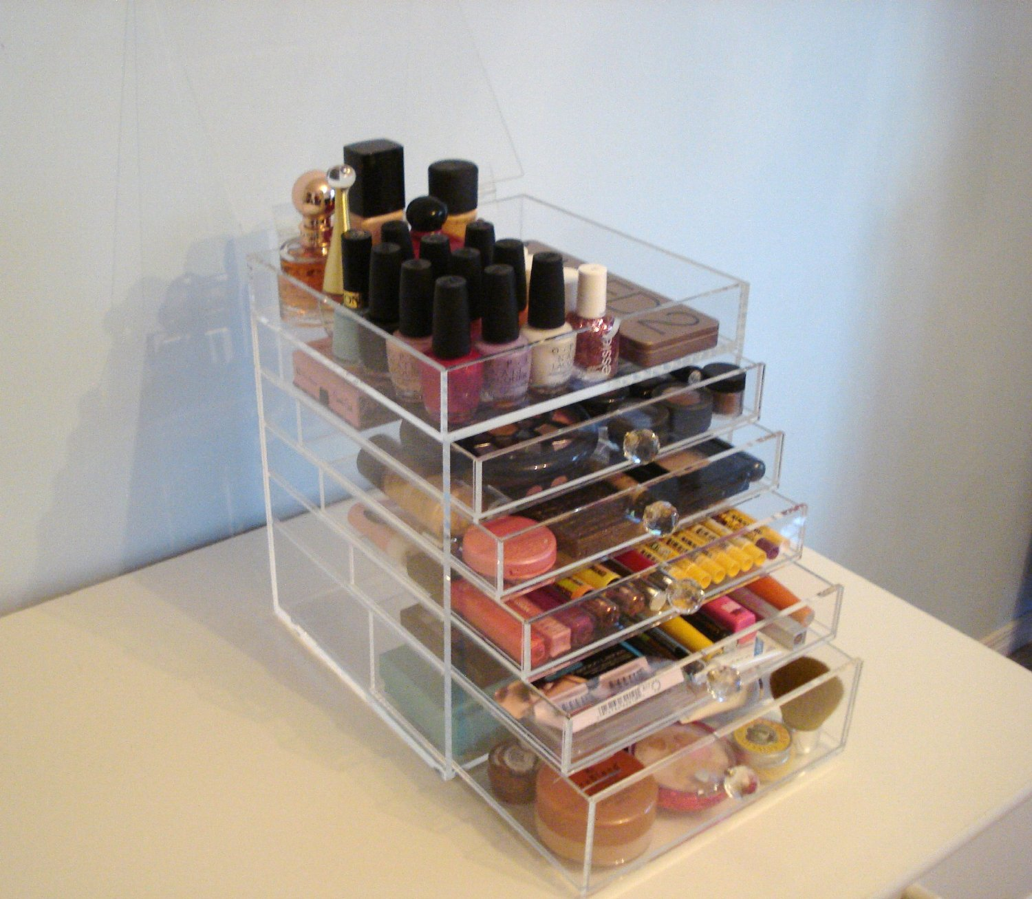 Design Makeup Drawers just a small town girl acrylic makeup drawers the culprit they suck us in with their beautiful organization and fact that you can actually see all of your products its gorgeous thing