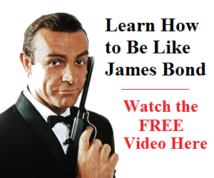 how to be like james bond picture