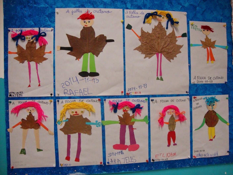 BES AMADORA 3 Trabalho sobre o Outono no Jardim de Infância nº 2