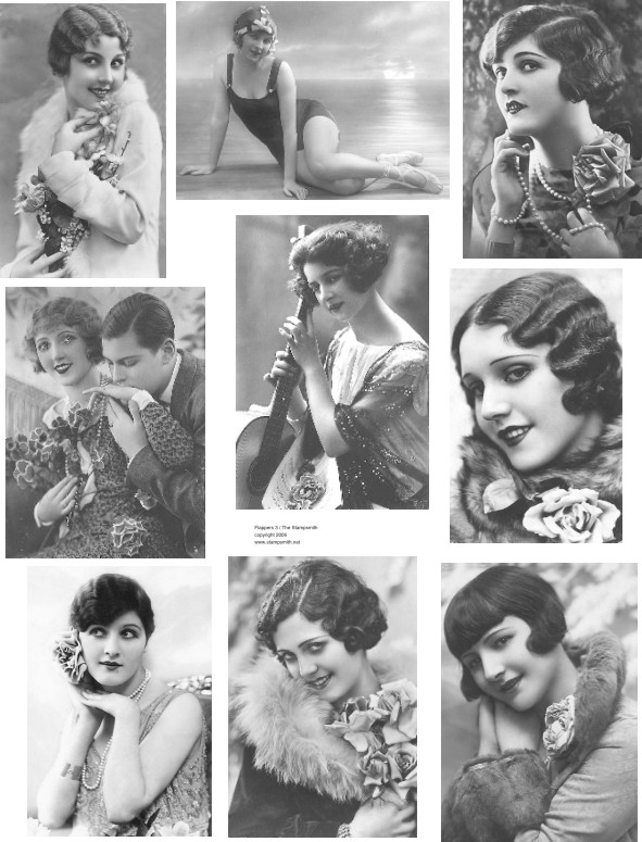 flapper hairstyle. The Hair Hall of Fame: