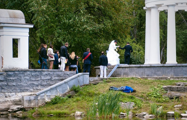 Russia wtf typical russian wedding